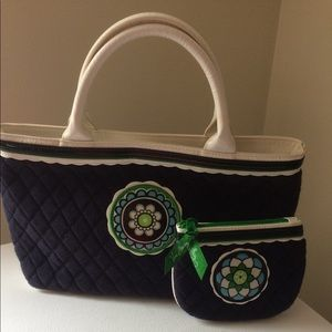 Vera Bradley bag and wallet.